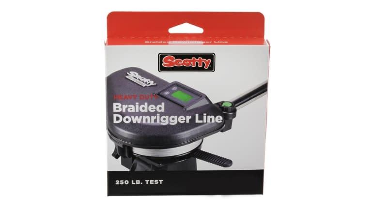 Scotty 2202 Heavy Duty Braided Downrigger Line w/Terminal Kit