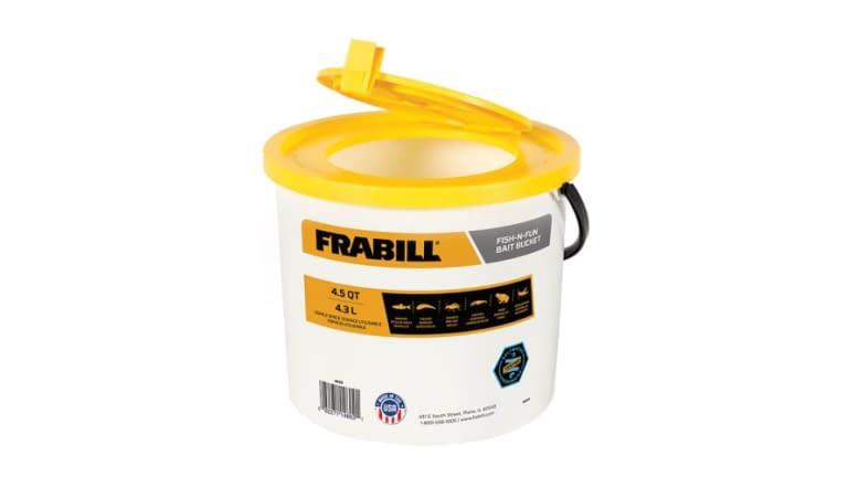 Frabill Fish N Fun 4.5qt Bait Bucket