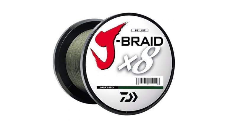 Daiwa J Braid 8 Strand 3300yd Spools - DG